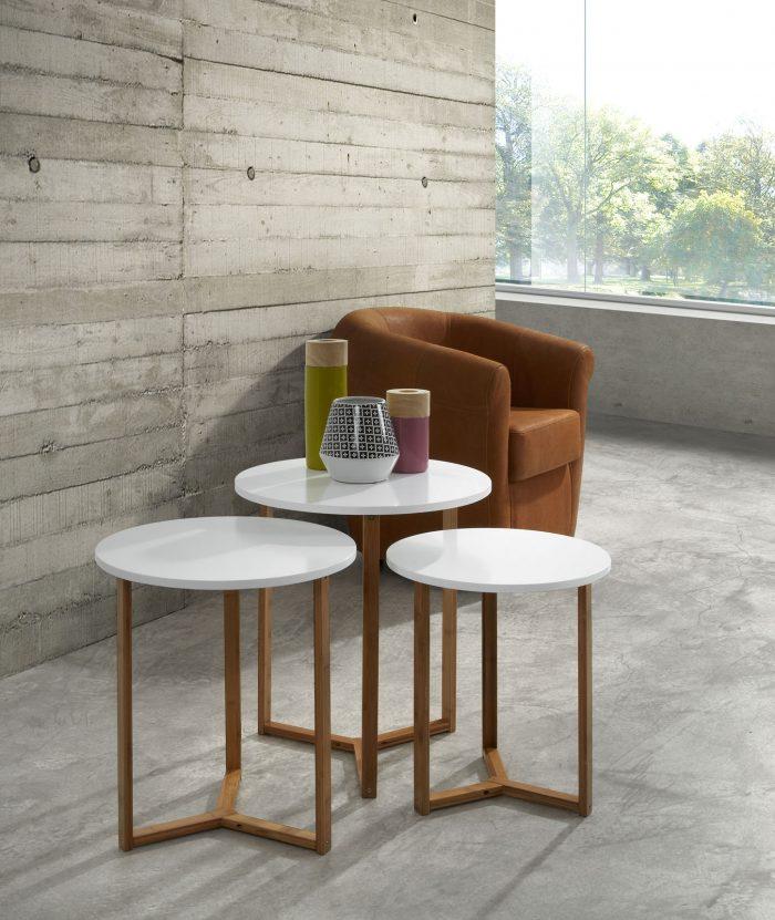 Coton Pastel - table gigogne
