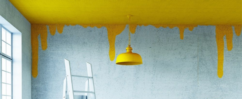 Peindre au plafond