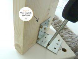 DIY coin bureau étape 11
