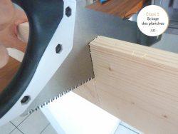 DIY coin bureau étape 3