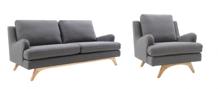 Canapé et fauteuil DRAKE