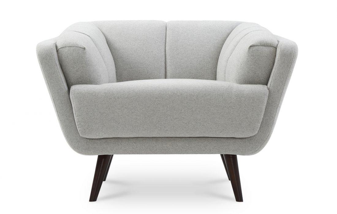 EDGAR fauteuil scandinave