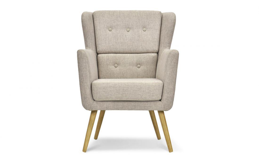 WARHOL fauteuil scandinave