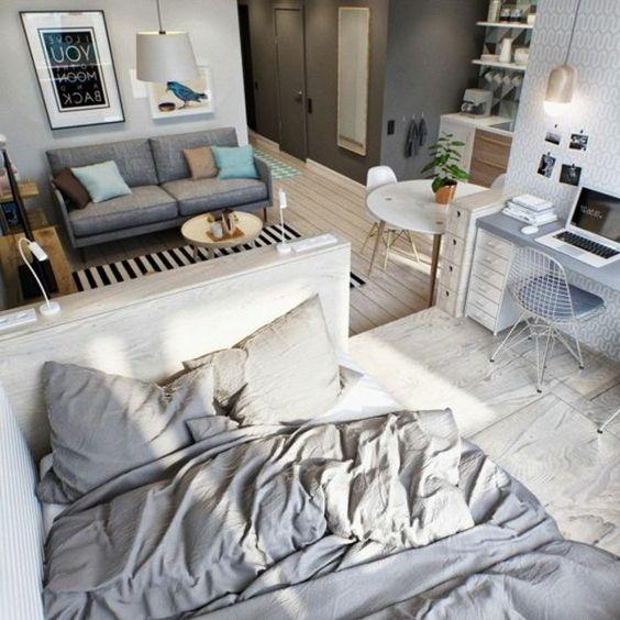 Mini-studio-appartement-lumineux