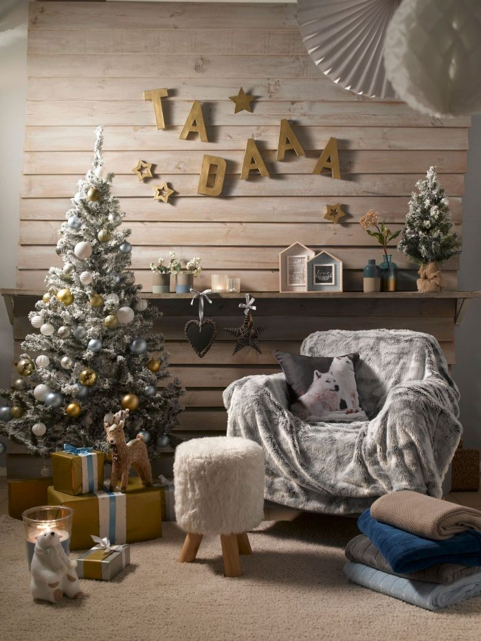 Comment d corer sa maison pour no l piece vivre le for Noel decorer sa maison