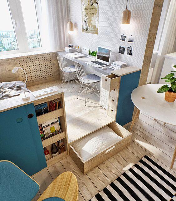 rangement astucieux petit appartement